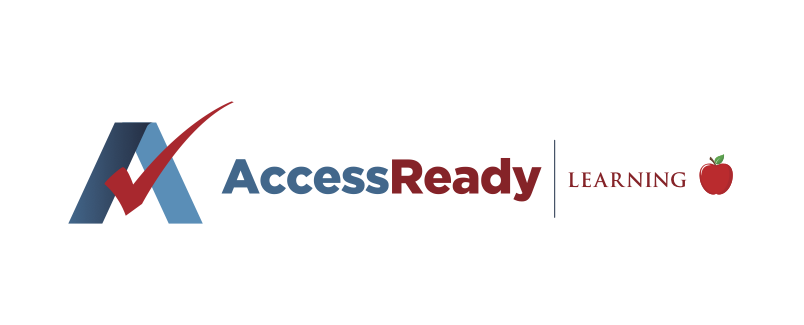 Access Ready text with apple icon